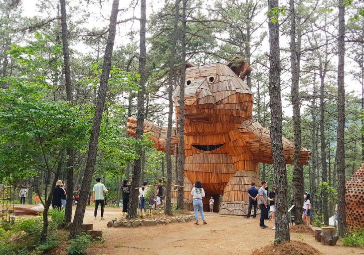 금강자연미술비엔날레 - 고요한(한국), 솔곰