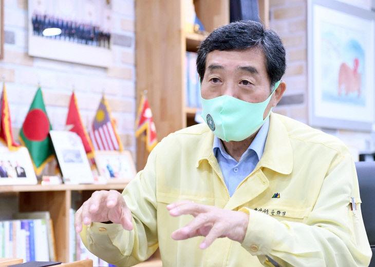 윤화섭 안산시장, 법무부 장관에 '보호수용법 입법' 요청문