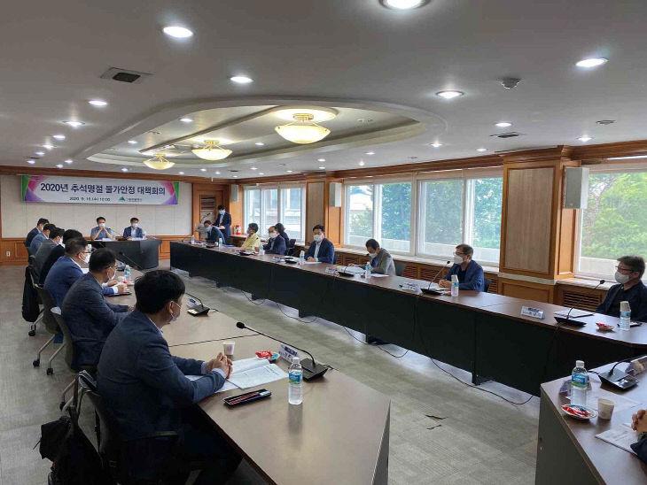 대구시 물가안정대책회의