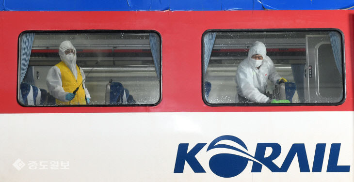'열차 이용객의 안전을 지킨다'…추석 앞두고 빈틈없는 방역