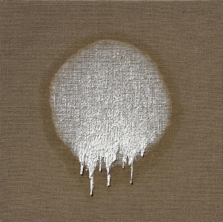 접합20-09, 2020, 마포에 유채, 100x100cm