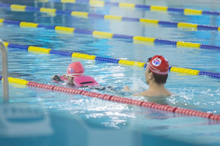 특수교육지원센터 겨울방학 계절학교(수영)