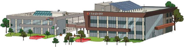 서산문화복지센터 모습