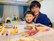 바이징 자녀 사진(하원기)