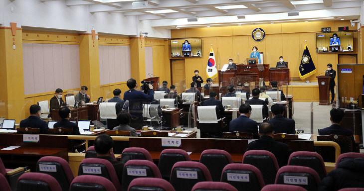 210113 서산시의회, 제258회 임시회 개회(사진3)