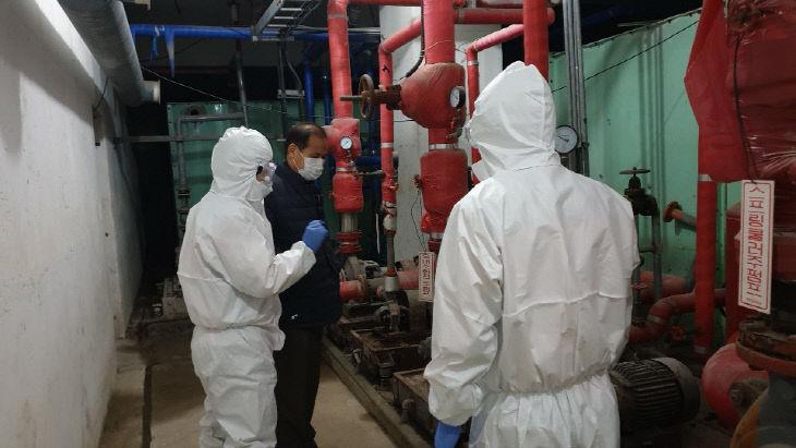 0121 태안소방서, 노인요양병원 화재안전 점검(4)