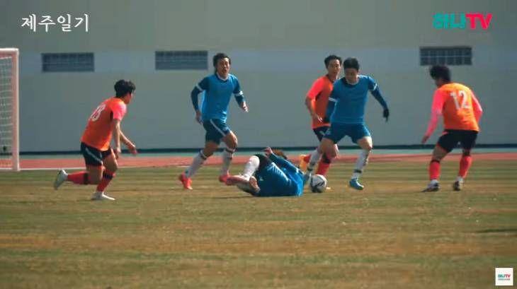 하나시티즌 연습경기장에서 대전 레전드를 만나다
