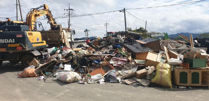 수해쓰레기 처리