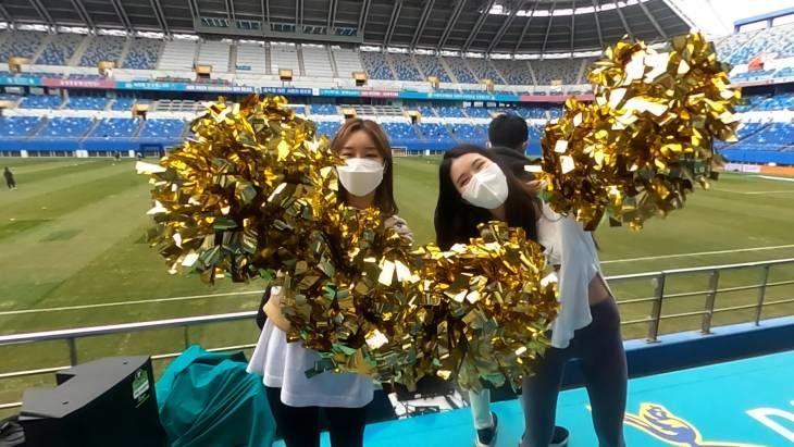 꿈돌이, BJ핀아, 치어리더도 함께한 대전하나시티즌 홈 개막전