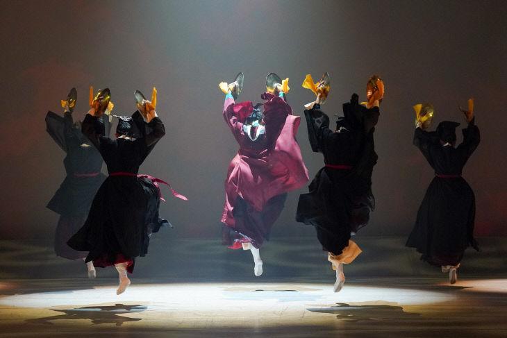 5 대바라춤