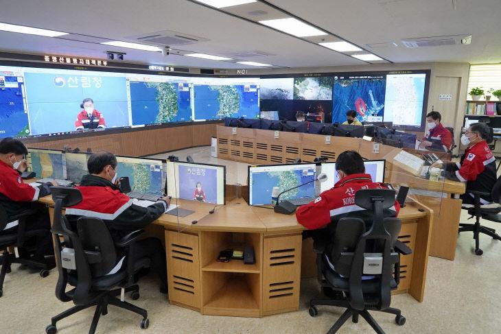 사진1_최병암 산림청장 전국 산림관계관 회의 주재