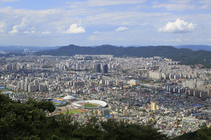대전 원도심 모습
