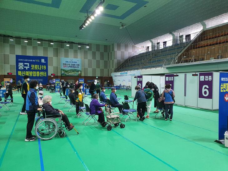 4.22 보도자료사진(대전 중구, 자원봉사자