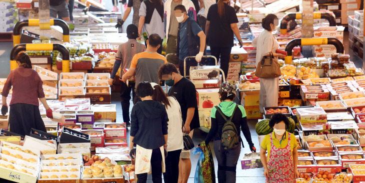 [르포]대목 맞은 대전 노은농수산물도매시장
