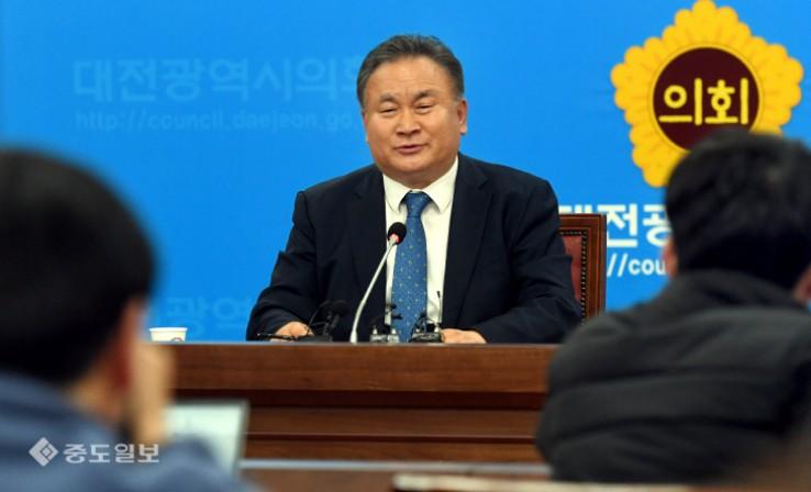 이상민 의원, 대전시장 선거 출마
